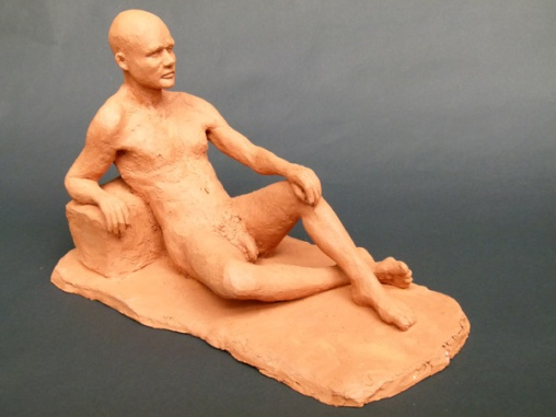 """Chris"" - terracotta (18 cm)"