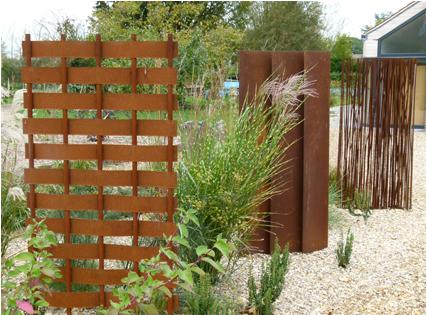 Garden screens - mild steel (1.8 m)