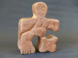 """""""Jigsaw - large"""" - salt-glazed stoneware (27 cm)"""