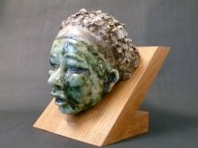 """Kalahari"" - glazed ceramic - SOLD"