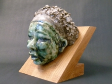 """Kalahari"" - glazed ceramic - SOLD"
