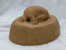 """Stone nymph"" - stoneware"