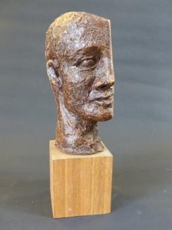 """""""Two ways"""" - glazed stoneware (18 cm)"""
